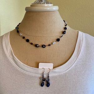 Silpada necklace & earring set